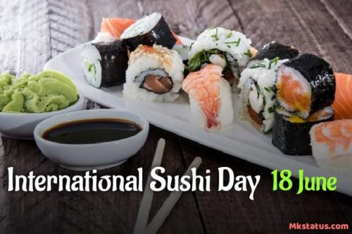 Happy International Sushi Day 2020 Greeting photos