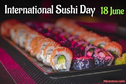 Happy International Sushi Day 2020 Greeting Images