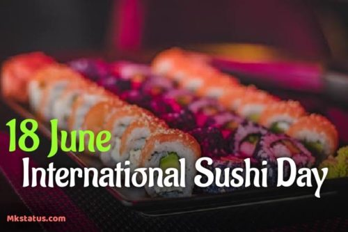 International Sushi Day 2020 wishes Images for status