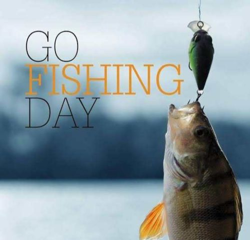 National Go Fishing Day wishes images