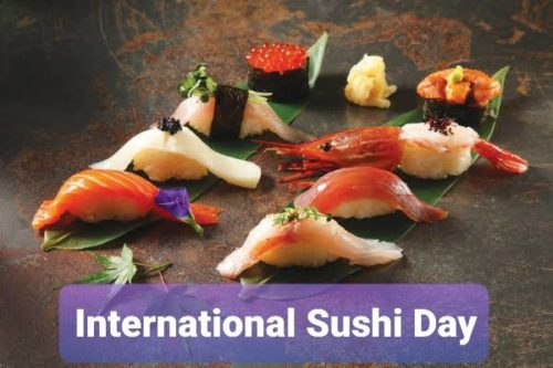 18 June International Sushi Day 2020 wishes Images