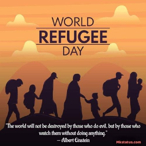 World Refugee Day pictures with Quotes