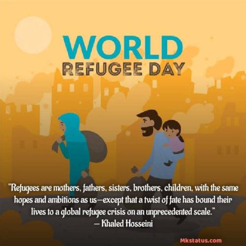 World Refugee Day 2020 wishes Quotes images
