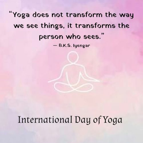 Yoga Day 2020 Wishes Messages