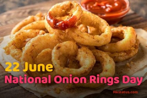National Onion Rings Day 2020 wishes images