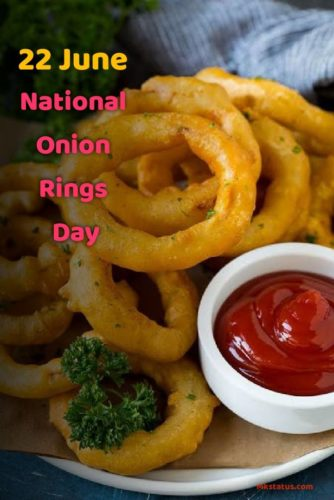National Onion Rings Day wishes images