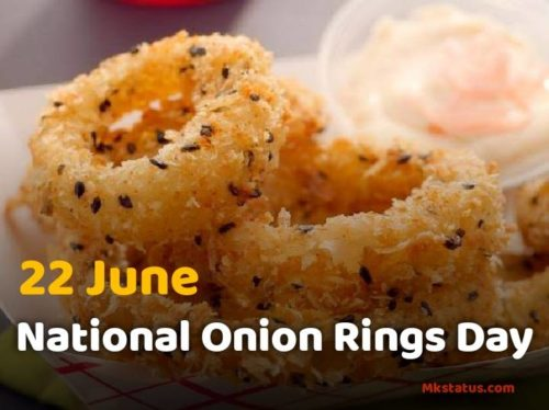 National Onion Rings Day wishes images 22 June