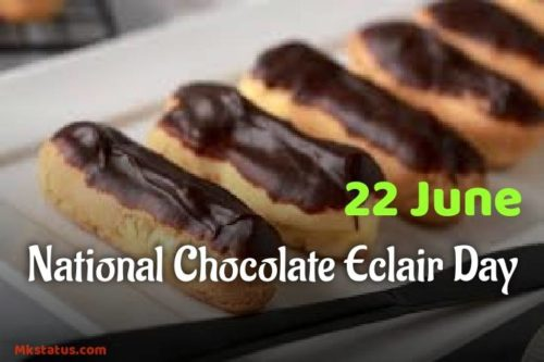 Download Chocolate Éclair Day 2020 wishes images