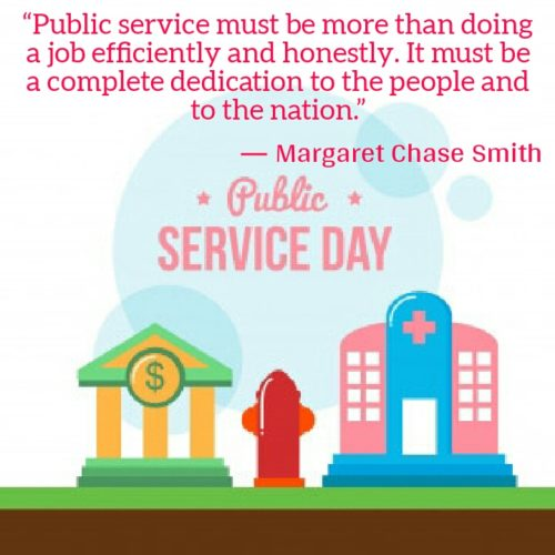 Public Service Day 2020 wishes