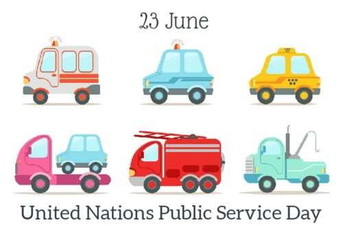 United Nations Public Service Day wishes