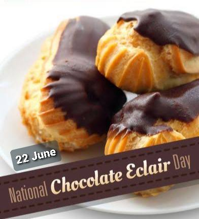 National Chocolate Éclair Day 2020 wishes images