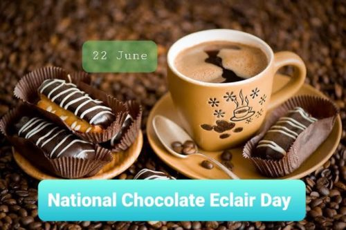 Best new National Chocolate Eclair Day greeting images for Status