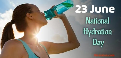 Happy National Hydration Day wishes images | 23 June