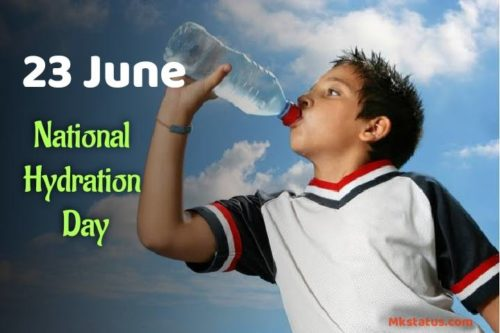 National Hydration Day greeting images