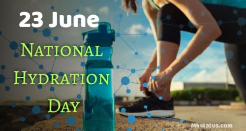 23 June National Hydration Day 2020 wishes images
