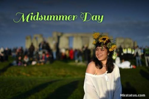Happy Midsummer Day images for status