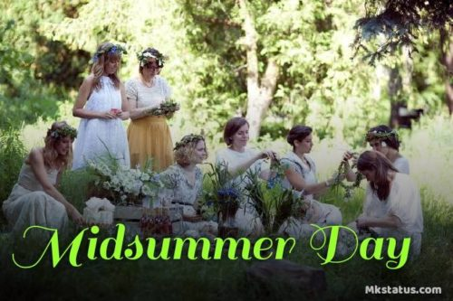 Midsummer Day photos