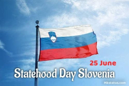 Statehood Day Slovenia wishes images