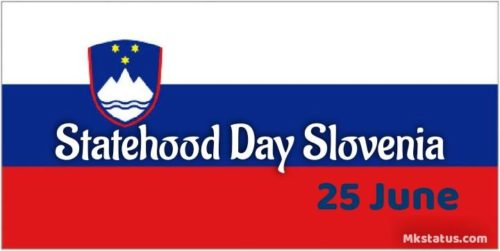 Happy Statehood Day Slovenia wishes images