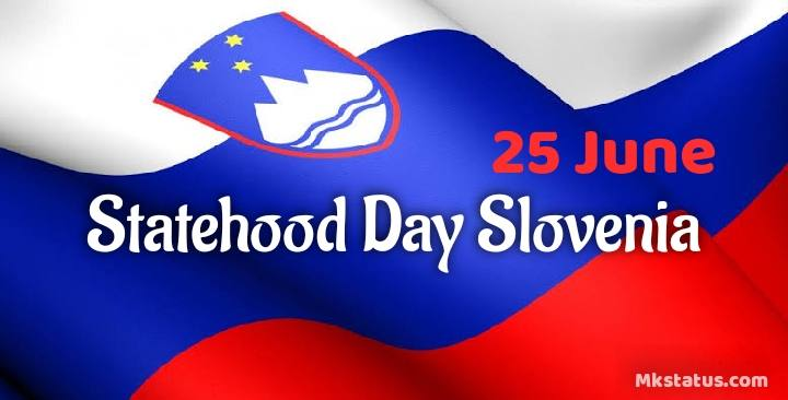 Statehood Day Slovenia wishes images for status