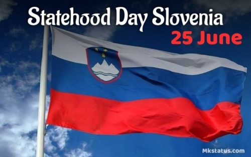 25 June | Statehood Day Slovenia wishes images
