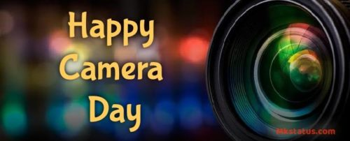 Download Happy Camera Day wishes images for status