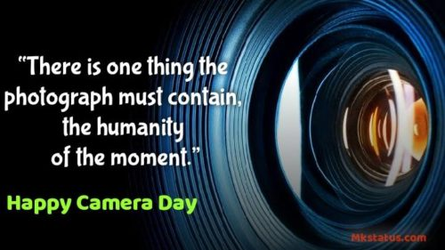 Happy Camera Day 2020 Quotes images