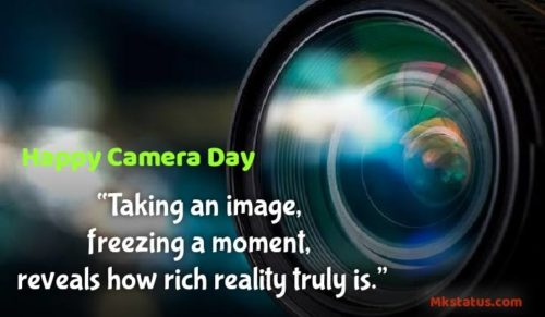 Happy Camera Day 2020 Quotes images for status
