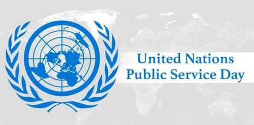 United Nations Public Service Day 2020 wishes