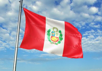 Flag Day in Peru greeting images