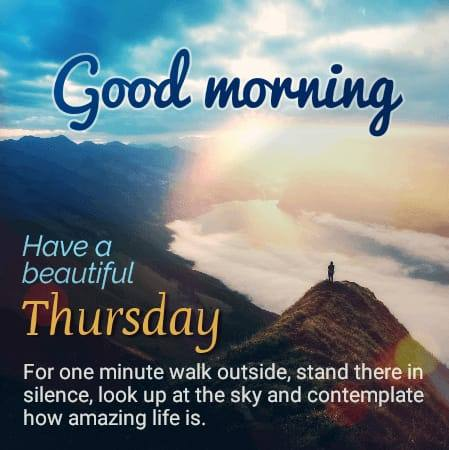 Happy Good Morning Thursday Quotes images