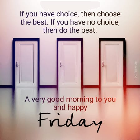 Latest 2020 Good Morning Friday quotes Images