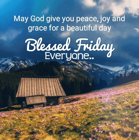 Blessing Happy Good Morning Friday images