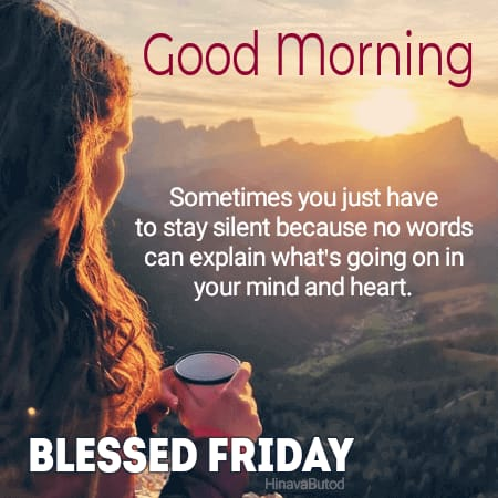 Good Morning Friday Blessing Messages Images