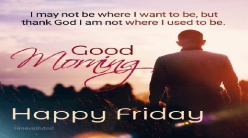 Good Morning Friday Quotes images
