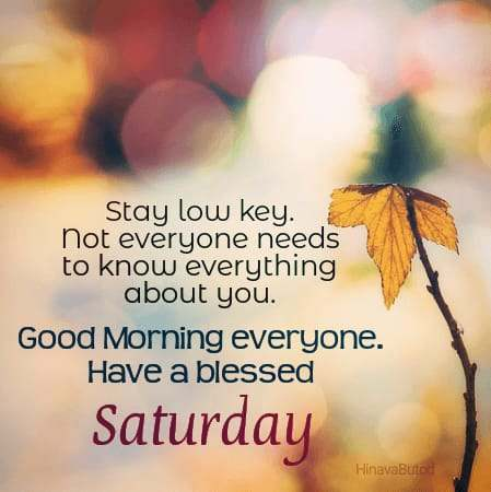 Happy Good Morning Saturday Quotes images