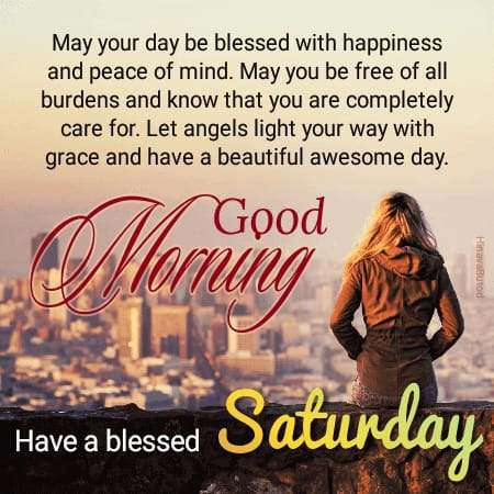 Good Morning Saturday messages images
