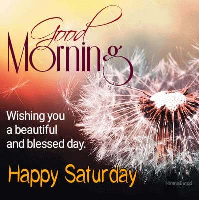 Good Morning Saturday Blessing Messages images