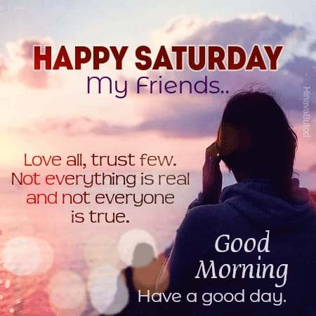Happy Saturday Good Morning Quotes Images