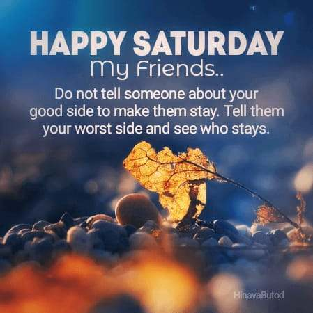 Happy Good Morning Saturday Quotes images for status