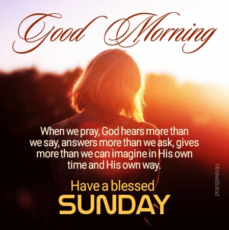 Happy Sunday Good Morning Messages images