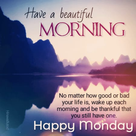 Download Good morning Monday Quotes images for Status & DP