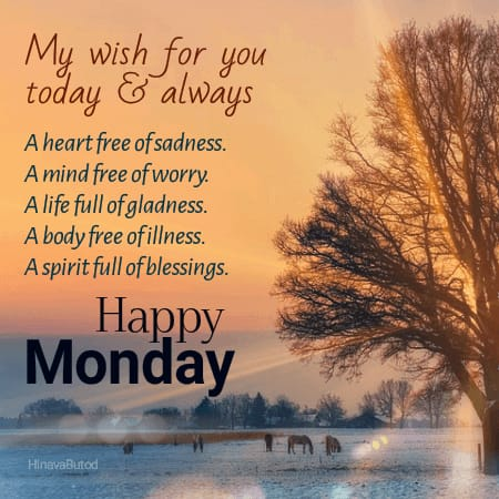 Good Morning Monday Blessings Quotes images