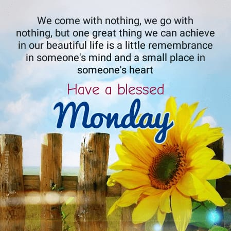 Good Morning Monday Quotes Images for status