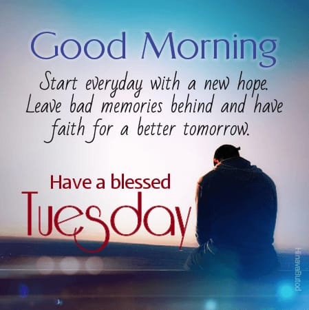Blessing Quotes wishing Happy Good Morning Tuesday