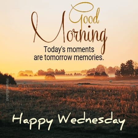 Good Morning Wednesday messages pics
