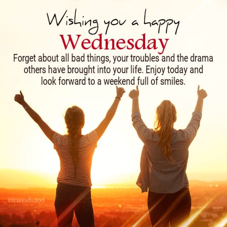Happy Wednesday Wishes images for wishing Good Morning