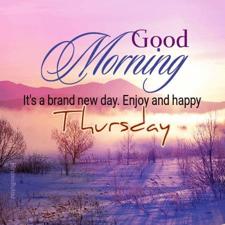 Good Morning Thursday wishes images