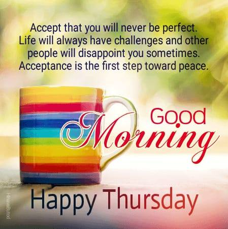 Good Morning Thursday Messages wishes images for status
