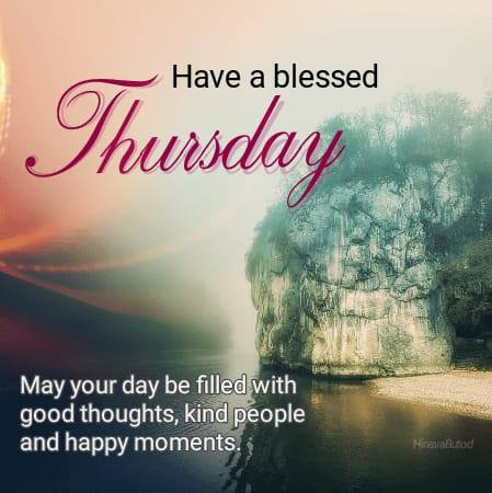 Happy Thursday Blessing Good Morning wishes images